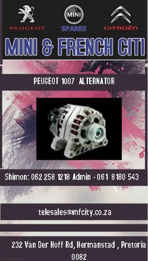 Peugeot 1007 alternator for sale