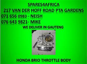 Honda brio throttle body for sale.