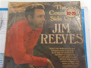 The country side of Jim Reeves record