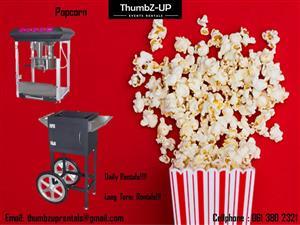 Popcorn Machines for Rent