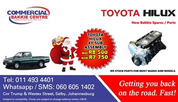 toyota hilux 4y sub assembly