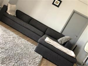 A corner L Couch