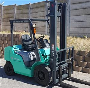 Mitsubishi Forklift - 2.5 Ton Diesel
