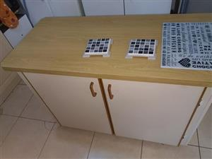 Center is for sale.land table