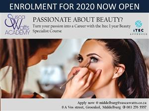 Itec Beauty Specialist Course at Susca Watts Academy