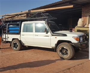2018 Toyota Land Cruiser 76 4.5D 4D LX V8 station wagon