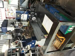Lathe, Milling & Drilling Machine 220 v Motor