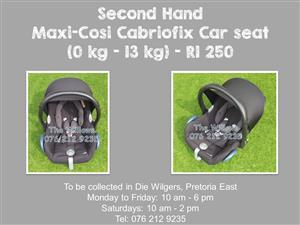 Second Hand Maxi-Cosi Cabriofix Car seat (0 kg - 13 kg)