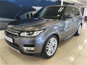 2016 Land Rover Range Rover Sport SDV6 HSE