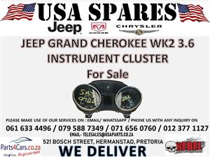 JEEP GRAND CHEROKEE WK 2 3.0 INSTRUMENT CLUSTER FOR SALE