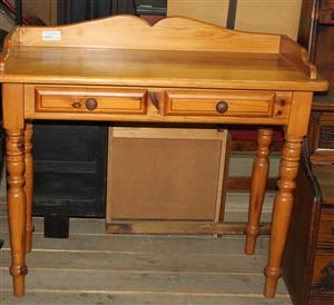 Brown writing desk S032178A #Rosettenvillepawnshop