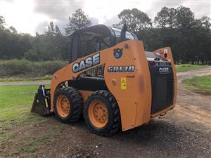 NEAT 2015 CASE SR130 VERY LOW HOURS