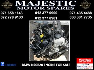 Bmw N20B20 engine for sale