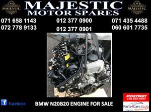 Bmw N20B20 engine for sale