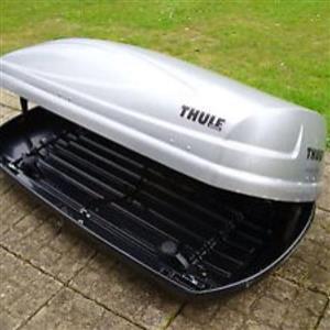 Silver Thule Atlantis 200 Roof Box