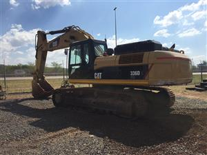 CAT 336D L ME Excavator 7000h 2012 Pre-Owned Other