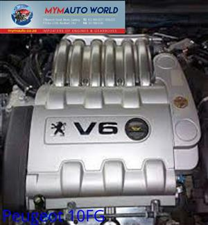 Imported used  PEUGEOT 1.4L 16V, 10FG engine Complete