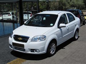 2013 Chevrolet Aveo 1.6 LS sedan automatic