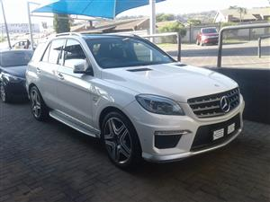 2013 Mercedes Benz ML 63 AMG