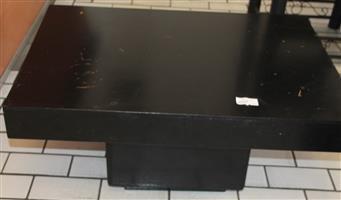 Black coffee table S031106C #Rosettenvillepawnshop