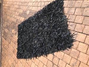 Black Leather Carpets for Sale.