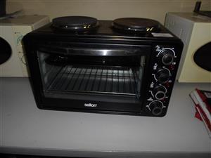 3080W Salton 2 Plate Stove / Oven