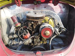 VW BEETLE MOTOR/ENGINE 1600