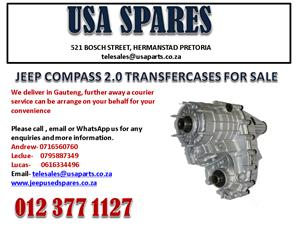 JEEP COMPASS 2.0 TRANSFER CASE FOR SALE. USA SPARES