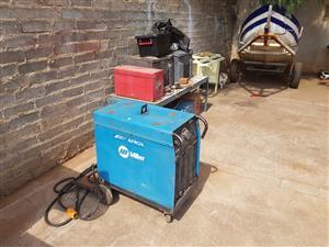 AFROX MILLER BLUE 45 CO2 WELDER