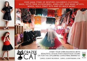 Beautiful kiddies clothing and accessories stock - perfect to start your own business!!
