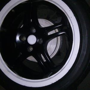 17inch mags with tyres to swop