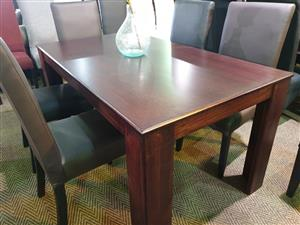 Solid Wood Dining Suite for sale R 7900