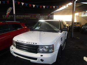 2007 Land Rover Range Rover Sport HSE Dynamic Supercharged