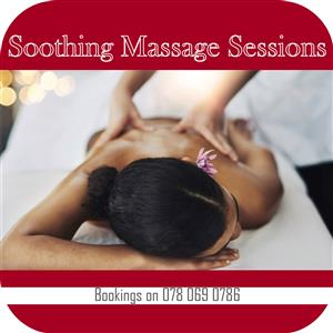 Soothing massage treatments available for ladies only