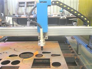 P-1325V MetalWise Standard CNC Plasma Cutting Table 1300x2500mm Servo Motors Barebone Unit