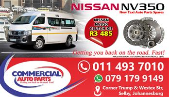 Clutch Kit For Nissan NV350 Impendulo For Sale.