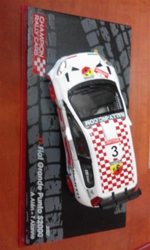 Fiat Grande Punto racing car