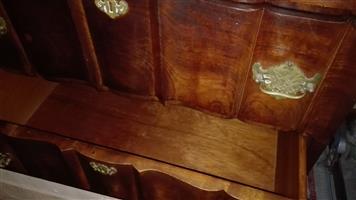 Antique Imbuia cupboard