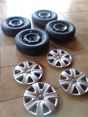 VW Rims and Tyres