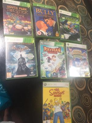 34 x XBox 360 Games