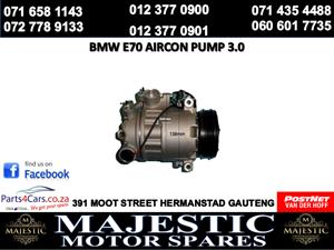 Bmw e70 air con pump for sale