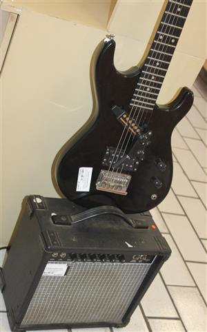 Musician electric guitar and Ryan bass speaker S030978A #Rosettenvillepawnshop