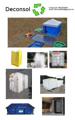 Decontamination Boxes for Building entrances - Keep your building safe from Viruses!