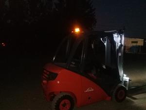 Forklift linde 2.5 ton