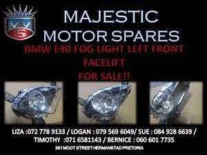 BMW E90 FRONT LEFT FOG LIGHT FOR SALE !!