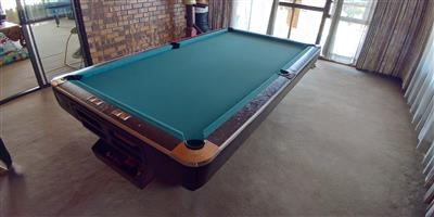 Professional snooker table R9500