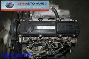 Imported used  MAZDA CAPELLA/626 2.0L DIESEL, RF engine. Complete second hand engine