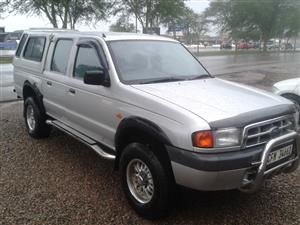 2002 Ford Ranger 2500TD double cab Montana
