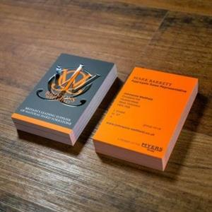 500 SINGLE SIDED BUSINESS CARDS-R135