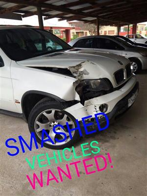 2005 Accident Damaged Cars BMW